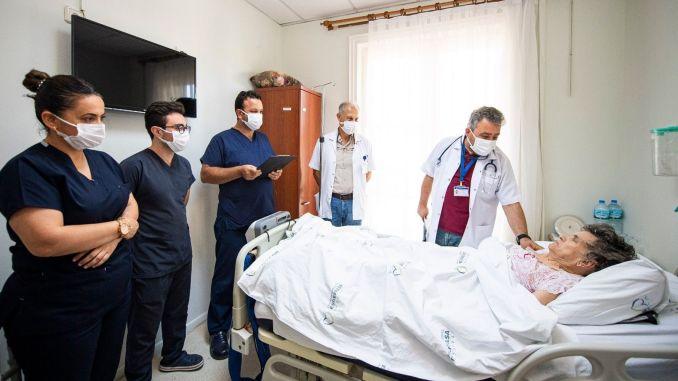 esrefpasa hospital palliative care center got full marks from patients