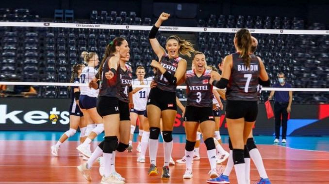 sultans of the net advanced to the quarter finals of the european volleyball championship