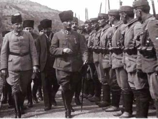 انتخب المخضرم مصطفى كمال قائدا عاما للجيوش التركية