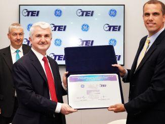 وقعت GE Marine و tei ge marine خطاب تفاهم في نطاق توطين التوربينات الغازية