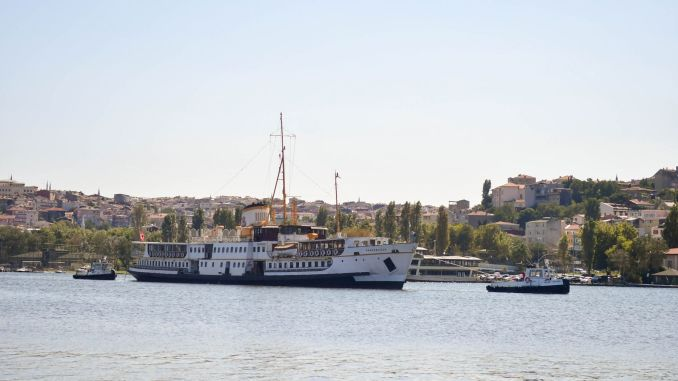 Fenerbahce ferry repaired by the ibb is at the womb museum again