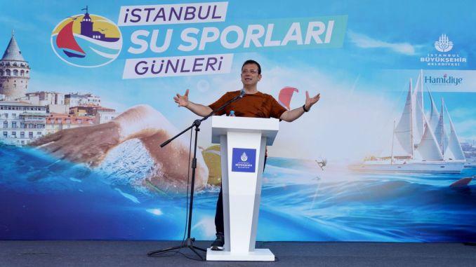 نحن حازمون على إحضار أولمبياد إمام أوغلو إلى اسطنبول