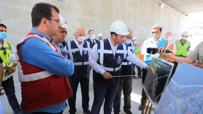 Imamoglu made investigations on the unkapani junction bridge