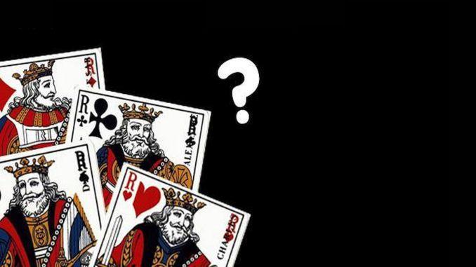 lozinka kraljeva u špil karata