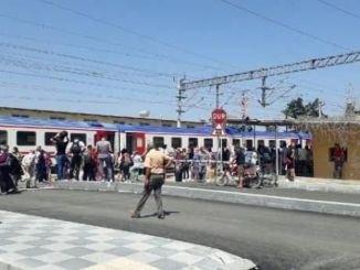 kayseri adana passenger train entered the reverse switch, passengers were evacuated