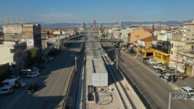 city square terminal tram will be put into service in April