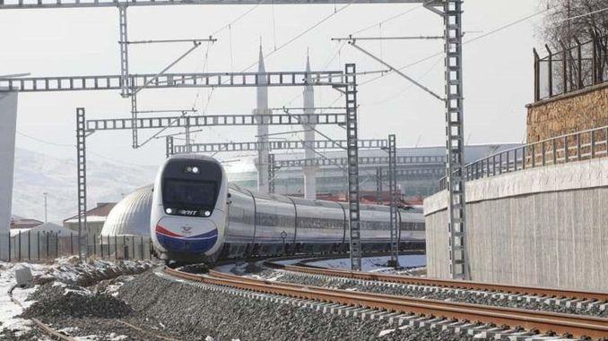 Зображення дренажних систем тунелів на лінії YHT Кіріккале-Сівас