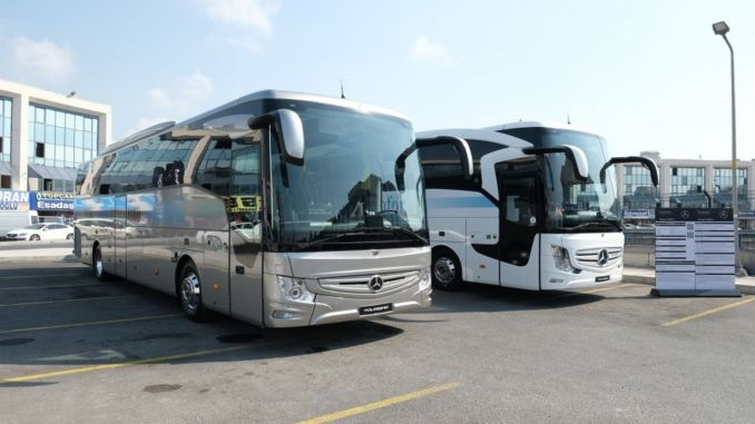 mercedes benz turk brings its busses with different innovations to bus lovers