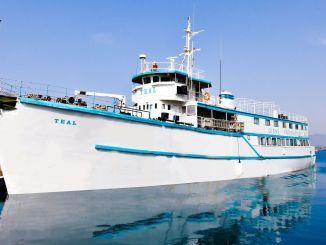 تم وضع الأساس للمنطقة التي ستنزل فيها السفينة البط البري ، والتي ستكون بمثابة متحف ،.