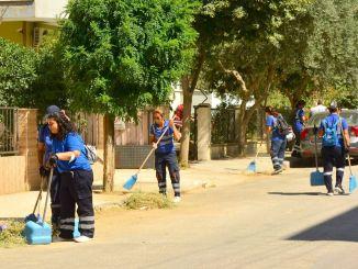 спільна операція з прибирання на вулицях та проспектах Одемісу