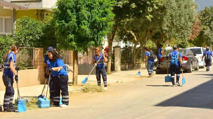 joint cleaning operation on the streets and avenues of odemis