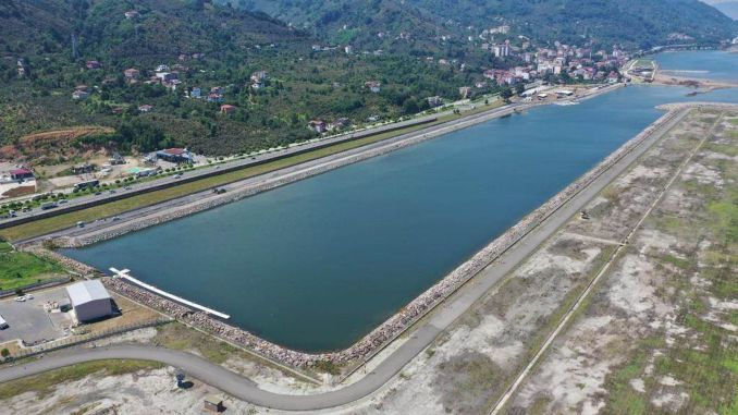 Ordu stagnant water sports center studies have come to an end