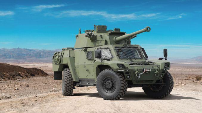 Otokar extended its scorpion ii family with scorpion iid
