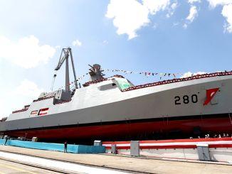 تم إطلاق أول سفينة في مشروع pn milgem