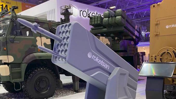 rocketsan نظام صاروخي جديد للدفاع الجوي