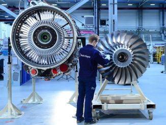 Rolls Royce поставляет двигатель Pearl Pearl для Bombardier