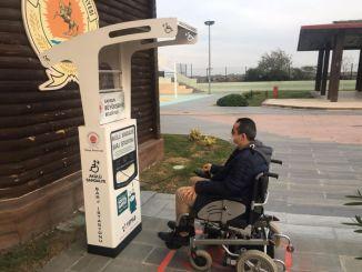 samsun Ladestationen für Elektrorollstühle wurden eingerichtet