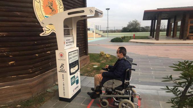 samsun power wheelchair charging station established