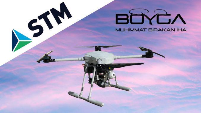 stmnin's new drone will hit the boyga with mm mortar ammunition