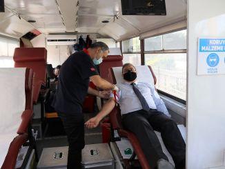 Osoblje regionalne direkcije tcdd dalo je krv Kızılayu