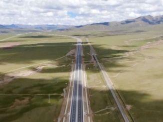 највиши аутопут на свету у Тибету