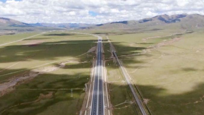 najveći autoput na svijetu u Tibetu