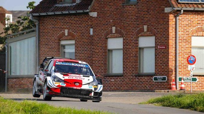 toyota gazoo racing takes the podium in belgium ypres rally