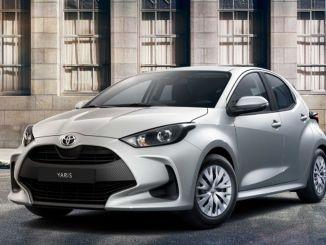 Toyota yaris была представлена на рынке с конкурентным ценовым преимуществом