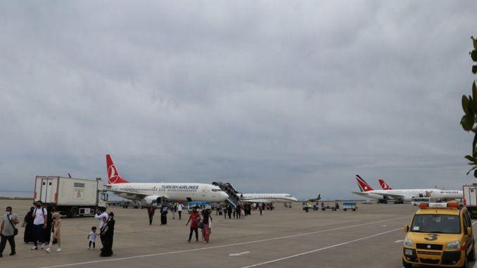 Letovi se nesmetano nastavljaju na aerodromu Trabzon.