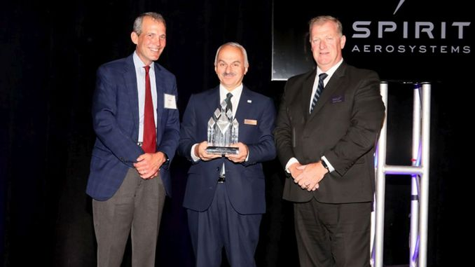Awarded Supplier of the Year award by tusas spirit
