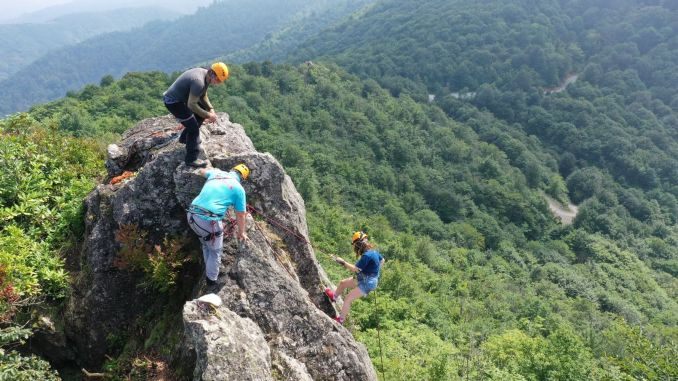 yoroz urban forest opens to mountaineering and rock climbing sports