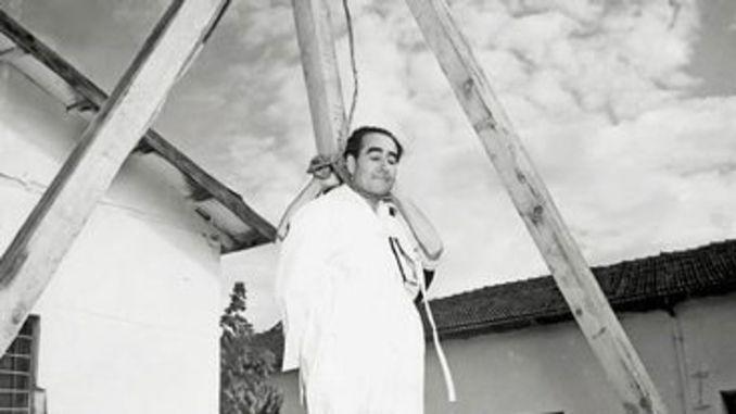 Adnan Menderes Executed