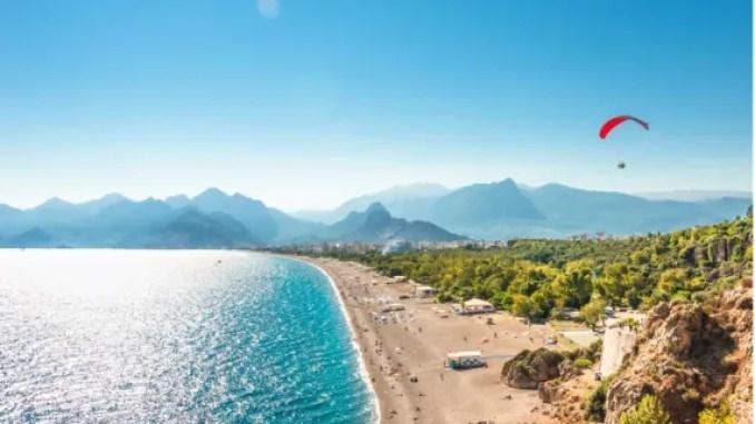 شواطئ أنطاليا