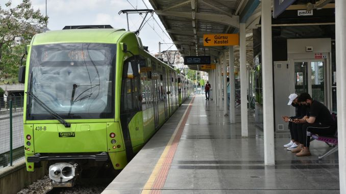 First Day of School in Bursa, Public Transportation is Free