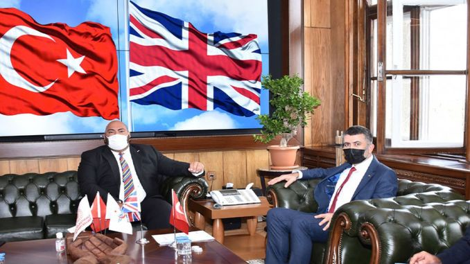 British Consul General in Istanbul Visited TCDD