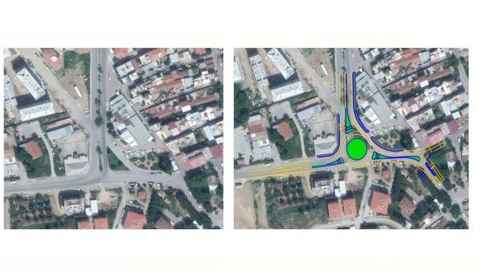 مشروع تقاطع جديد من بلدية إزمير بويوك شهير إلى مدينة صور