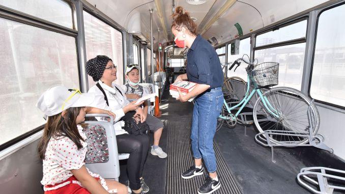 Rezervirajte iznenađenje u tramvajima u Konyi