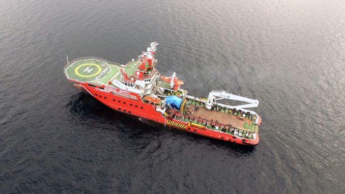 تم اجتياح ألف كيلومتر من سطح البحر ضد التلوث النفطي الناشئ من سوريا في البحر الأبيض المتوسط