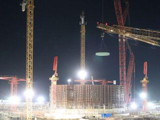 Основные элементы шахты реактора были установлены в энергоблоке АККУЮ НГС.