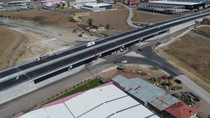 ankara akyurt fair and industrial zone bridge junctions opened
