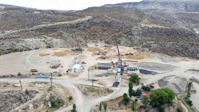 ankara metropolitan municipality's fourth asphalt production facility opened