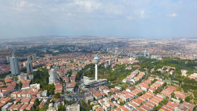 Housing sales in Ankara had a share of one percent across Turkey.