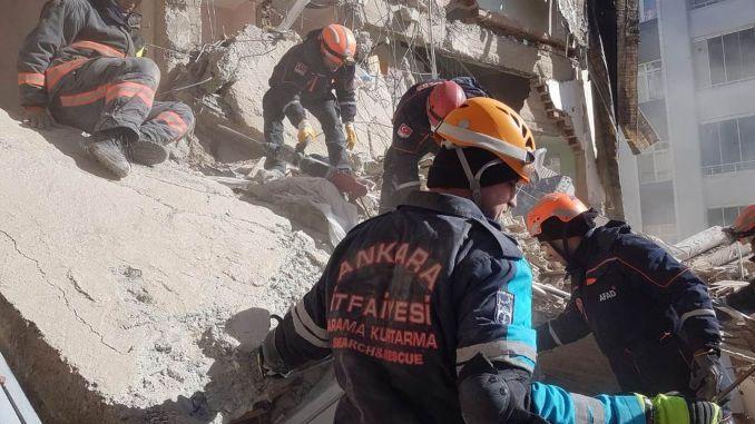معدل حساسية سكان أنقرة للكوارث أعلى من المتوسط التركي.