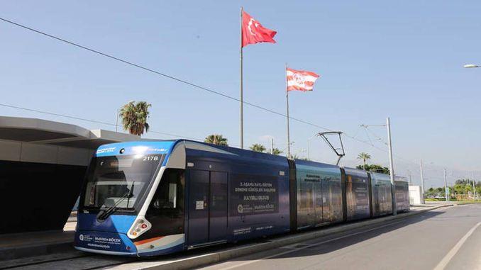sandbag test on antalya stage rail system line