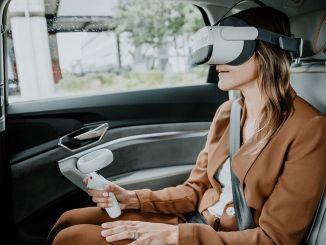 來自奧迪全息乘客的虛擬現實應用程序