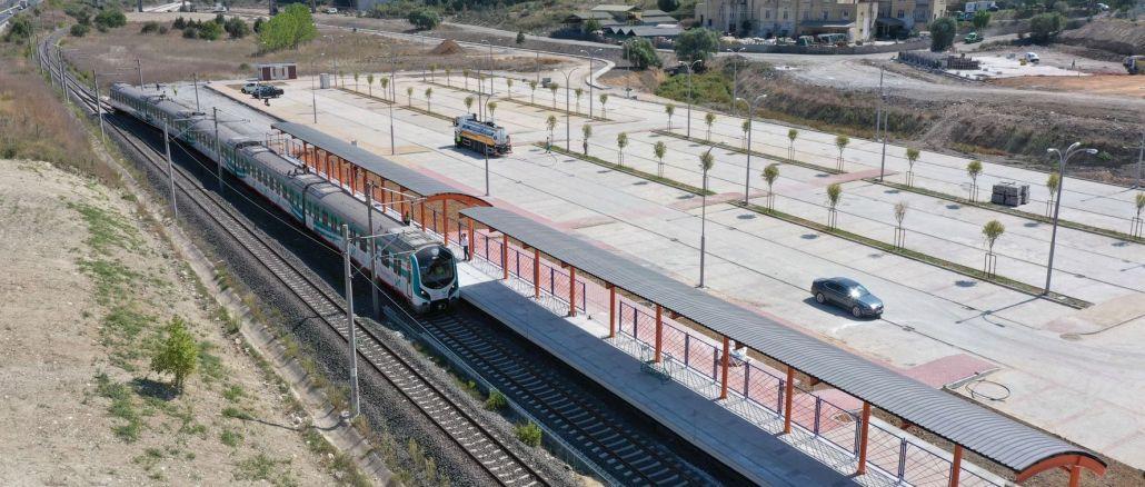 בוצע ניסוי ראשון של קו רכבת הטבעת bahcesehir Halkali Marmaray