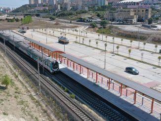 Opravljena je bila prva poskusna vožnja obročne proge bahcesehir Halkali Marmaray