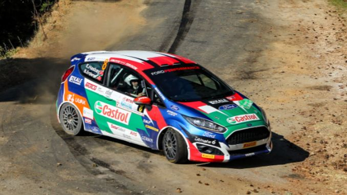 Castrol Ford-Team beendet Truthahn-Grün-Bursa-Rallye