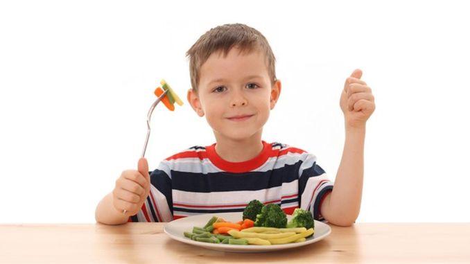 Lebensmittel, die Kinder größer machen
