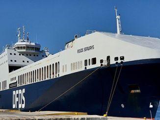 Међународна награда дфдс броду на европском поморском самиту за трајекте